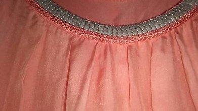 Topy - top hodvábny  (šaty hodvábne) - 11125037_