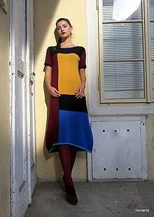 Šaty - šaty ZOLA -vícebarevné - 11124975_