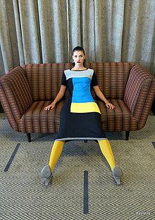 Šaty - šaty ZOLA -vícebarevné - 11124977_