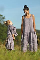 Detské oblečenie - Lněná sukně Lila (110) - 11126287_