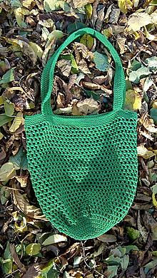 Nákupné tašky - Macrame sieťovka - 11124943_