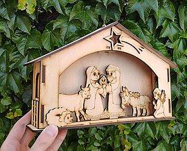 Dekorácie - Vianočný Betlehem - 11123518_