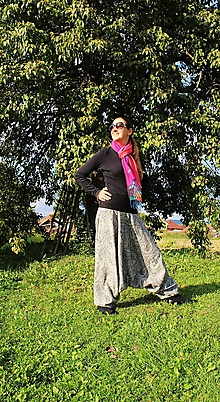 "Nohavice - Aladinky ""Ornamentové"" - 11126368_"