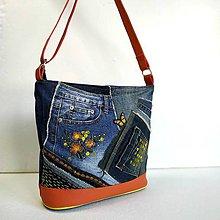 """Veľké tašky - Kabelka """"...o žltom motýľovi"""" - 11125265_"""