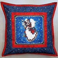 Úžitkový textil - Vianočná obliečka na vankúš - 11123799_