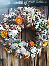 Dekorácie - Jesenný veniec - 11124233_