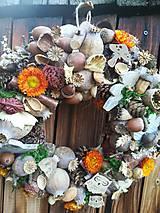 Dekorácie - Jesenný veniec - 11124237_