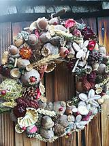 Dekorácie - Jesenný veniec - 11124247_