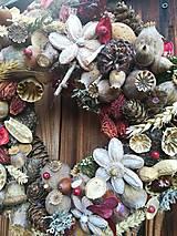Dekorácie - Jesenný veniec - 11124251_