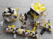 Hračky - Susugo sada pre najmenších - trojuholníky. - 11126108_