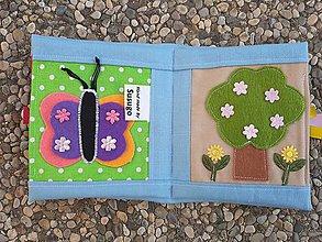 Hračky - Susugo Mini quiet book. - 11126035_