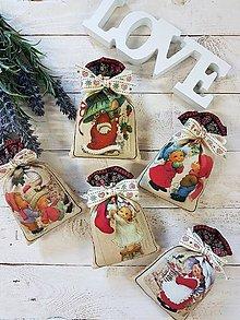 Dekorácie - Vianočné, levanduľové vrecúško - 11123414_