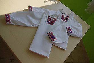 Detské oblečenie - Chlapčenské košele - 11126209_