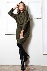 Šaty - Úpletové šaty Mila - 11128702_