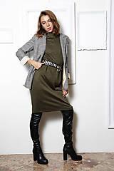 Šaty - Úpletové šaty Mila - 11128709_