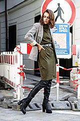Šaty - Úpletové šaty Mila - 11128719_