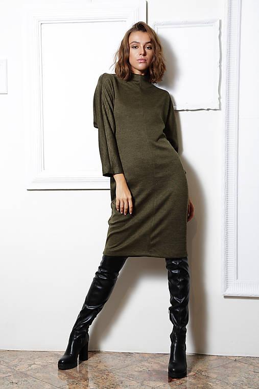 Úpletové šaty Mila