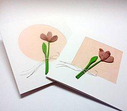 Papiernictvo - Pohľadnica ... jednoducho kvet - 11128599_