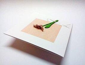 Papiernictvo - Pohľadnica ... jednoducho kvet (štvorcový výrez) - 11128629_