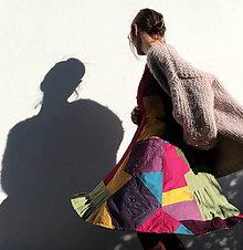 Šaty - sešívané šaty - 11127643_