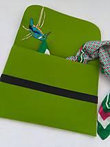 Na notebook - Rybárik (ručne vyšívaná plstená taška) - 11128406_