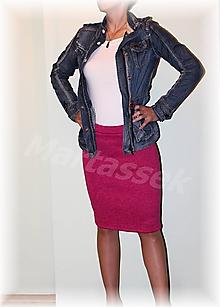 Sukne - Dvě sukne krásně hřejivé pro T. - 11128175_
