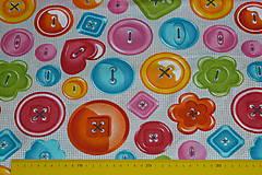 Textil - Látka Gombíky - 11128075_