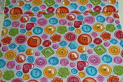 Textil - Látka Gombíky - 11128081_