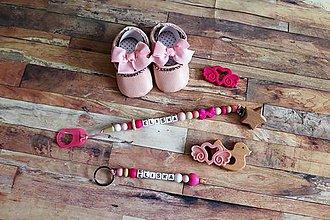 Detské doplnky - KOMPLET darčekový set pre dieťatko - 11127935_