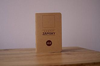 Papiernictvo - Vreckový zápisník - DENNÉ ZÁPISKY - 11128688_
