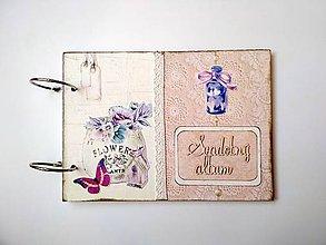 Papiernictvo - Fotoalbum folk svadobný * kniha hostí * album A5 zľava z 29 eur - 11128320_
