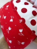 Hračky - Textilné zvieratko - Macko z Tulipánovej doliny - 11130052_