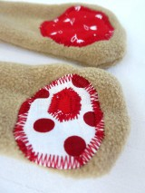 Hračky - Textilné zvieratko - Macko z Tulipánovej doliny - 11130053_