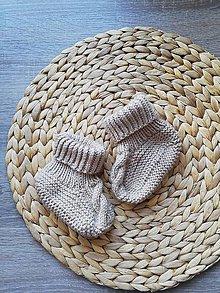 Topánočky - Vypletane capacko papučky - 11129728_