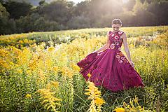 Šaty - šaty s prekrížením Poľana - 11128954_