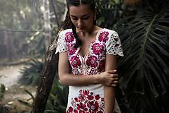 Šaty - krátke béžové šaty Poľana - 11128980_