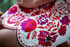Šaty - krátke béžové šaty Poľana - 11128986_