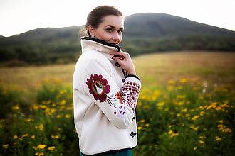 Kabáty - bunda béžová Poľana - 11129408_