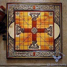 Tabuľky - Lapland Tablut, antic, veľký - 11127609_