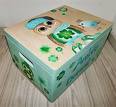 Krabičky - Green Owl - 11129354_
