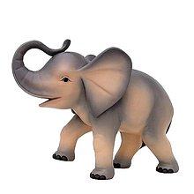 Dekorácie - Zvieratá pre Betlehem – Slon - 11126608_