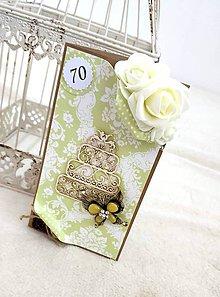 Papiernictvo - Torta s vôňou tulipánov... - 11129894_