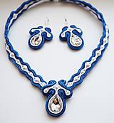 Sady šperkov - Šujtášový set Divadelná Pani - 11129162_
