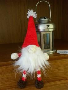 Dekorácie - Vianočný škriatok - 11127743_