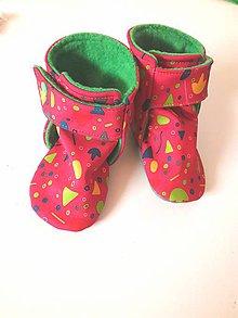 Topánočky - softshellové čižmičky do nosiča - 11129797_