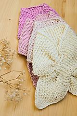 Detské doplnky - .MiNi detský šál (50% merino, 50% bavlna) - 11126819_
