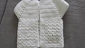 Detské oblečenie - Vestička - 11129207_