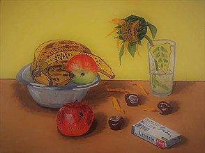 Obrazy - Jesenné zátišie - 11130093_