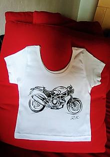 Tričká - Tričko Motorka - na zákazku I. - 11129687_