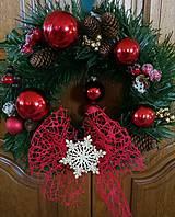 Dekorácie - Vianočný veniec - 11126683_